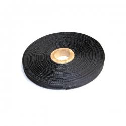 Sangle nylon noir - 10mm