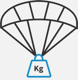 max Gewicht - 0,3 kg