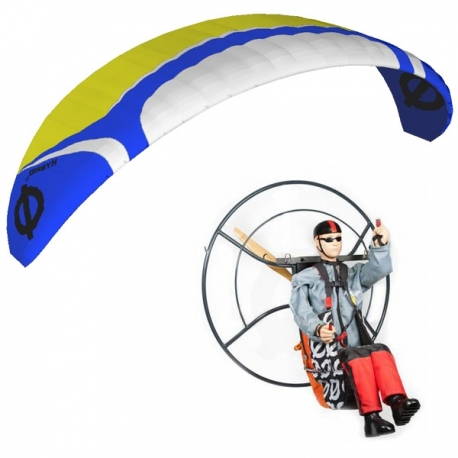 RC Paramotor set ARTF Hybrid 5.2 / Backpack XL / Pilot Tom