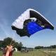 RC Skydiving parachute - Steven - Blue