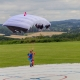RC Skydiver fallschirm - Steven - Blau