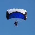 RC Skydiver Set - RC Fallschirm - Steven - blau
