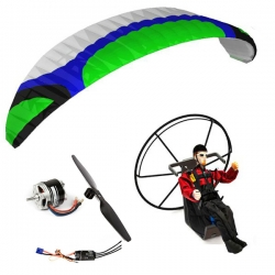 Kit paramoteur Rc ARTF Hybrid 3.0 / Backpack L / Pilote Lucas