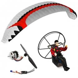 Kit paramoteur Rc ARTF Fox RS 2.6 / Backpack L / Pilote Lucas