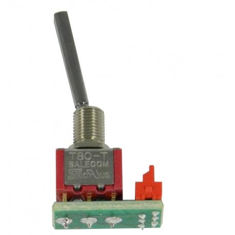 Interrupteur long 2 positions monostable - Jeti DC