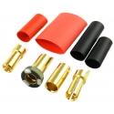Jeti - Gold connectors M/F - 5.5mm Anti-spark (2 pairs)
