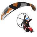 Rc Paramotor set - Camo H1.5 / Backpack M3 / Ben