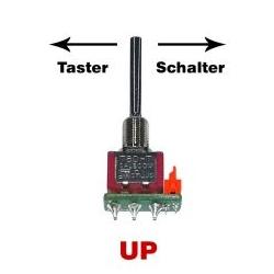 Jeti Tast-Schalter lang UP für Jeti Pultsender