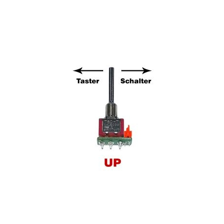 DC- replacement switch 1-Spring-UP 3-position