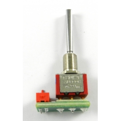 DC- replacement switch Spring-Loaded 3-position
