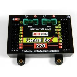 Central Box 220 + 2x Rsat2 + interrupteur magnétique