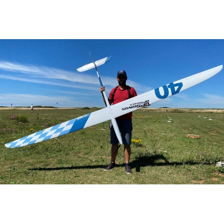 Chocofly Avanti 4.0 - White / Blue