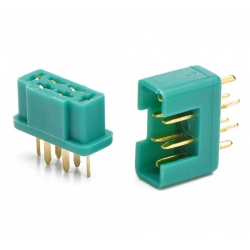 OPTronics - Set of MPX 6pins connectors - Amass