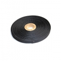 Nylon strap 10mm (0.04in) - Black color