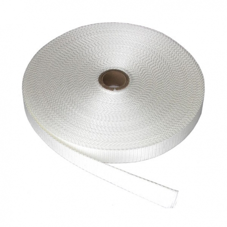 Nylon strap 10mm (0.04in) - White color