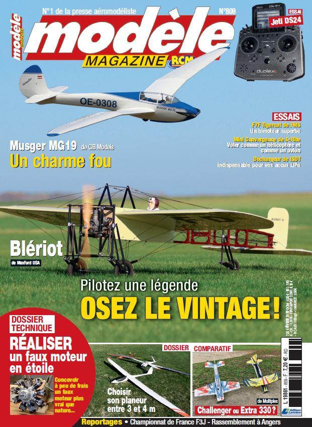 Modèle Magazine 809 : Essai de la Jeti DS24 par Opale Paramodles / Jeti France