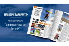 Paragliding + magazine : zoom on Opale Paramodels innovations