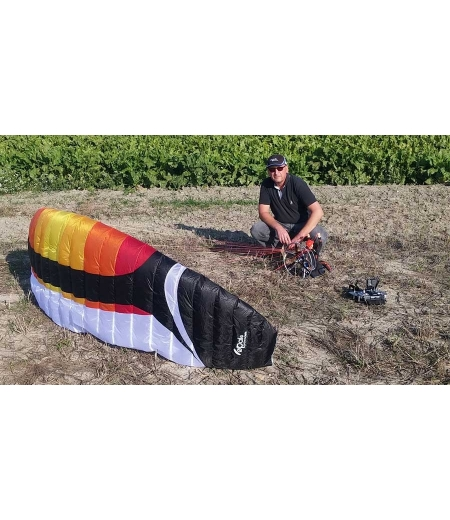 Impressions of a RC paramotor pilot on the Power 2.7